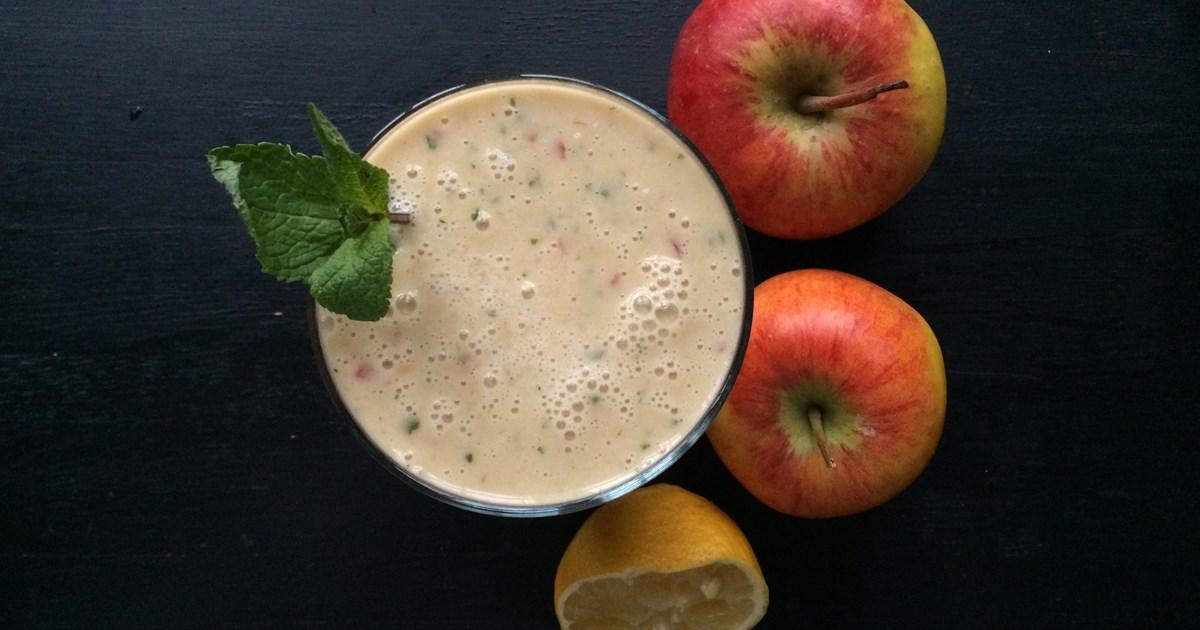 smoothie med äpple